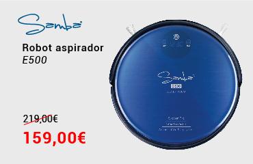 Robot aspirador Samba E500